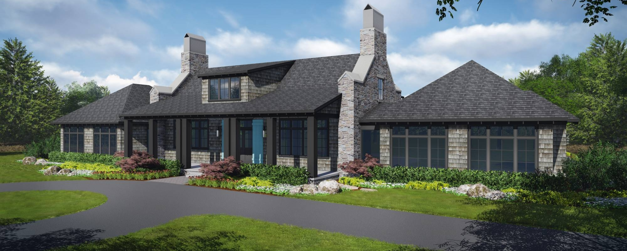 Glen Arbor French Country1